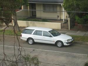 Ford Falcon station wagon 1995