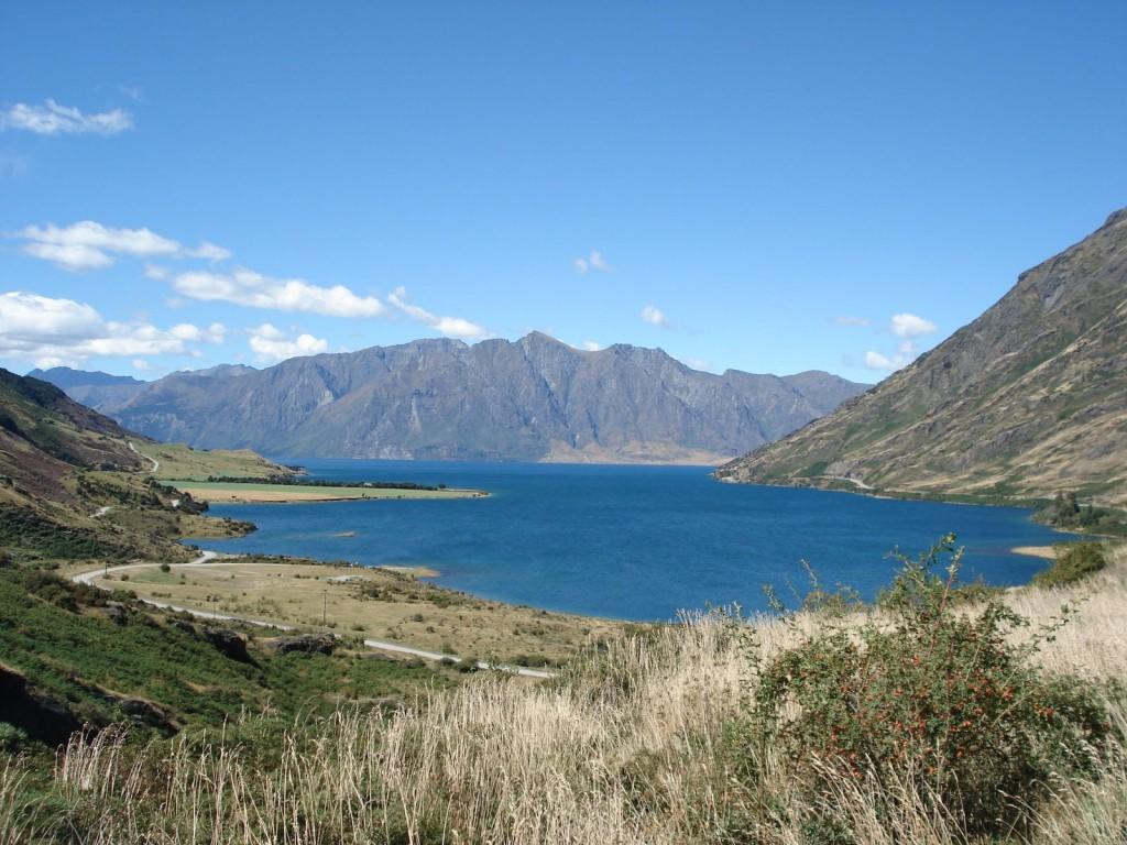 Lac en Nouvelle Zelande