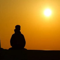 Lost in meditation