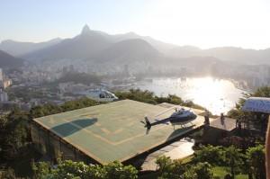 Vue depuis le pain de sucre a Rio de Janeiro