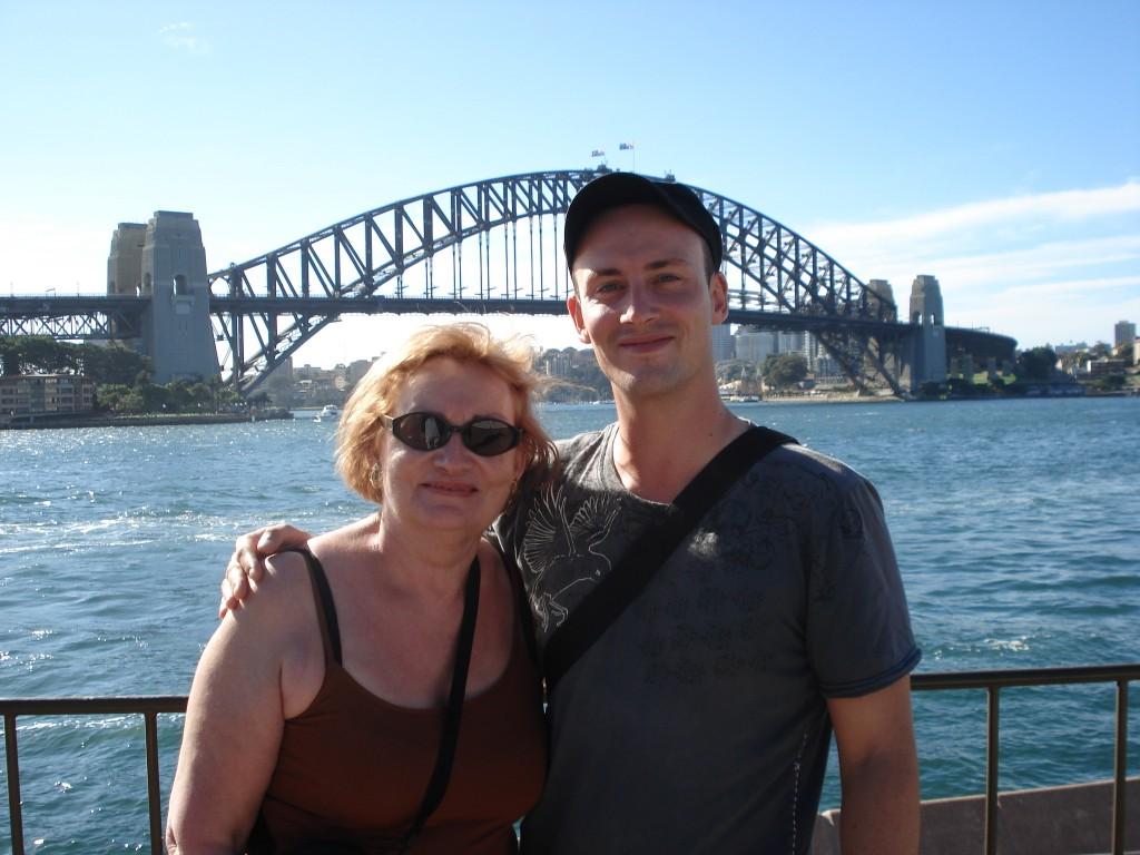 Aurélien Amacker et Josiane Sydney 2008