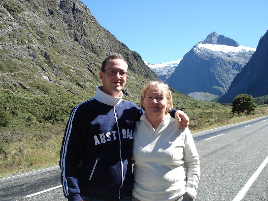 Aurélien et Josiane Nouvelle Zélande 2008