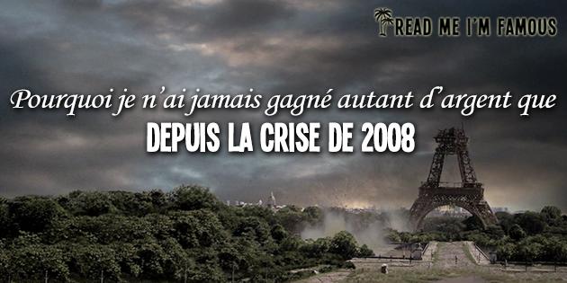 RMIF - crise 2008 argent