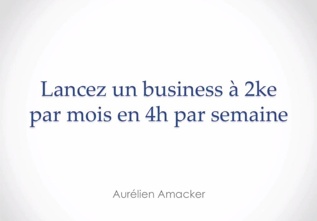 lancer un business à 2ke par mois